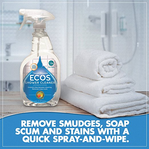 Earth Friendly Products ECOS Shower Cleaner with Tea Tree Oil