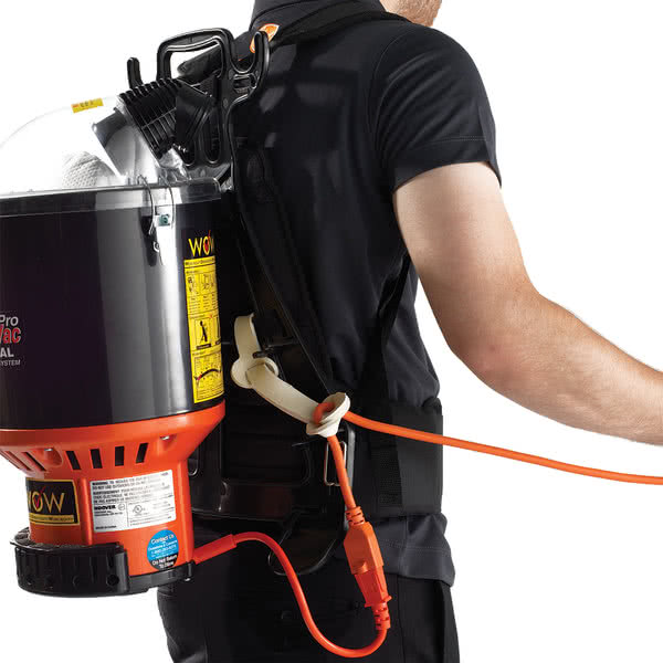 How to use Hoover Commercial Lightweight Backpack Vacuum C2401