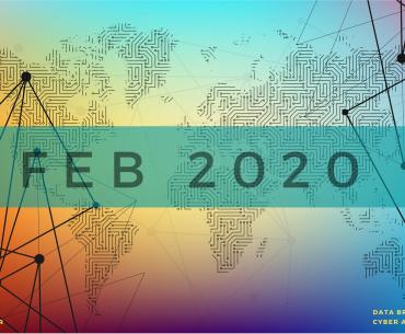 Data breaches & cyber attacks in Feb 2020 – 623 million records breached
