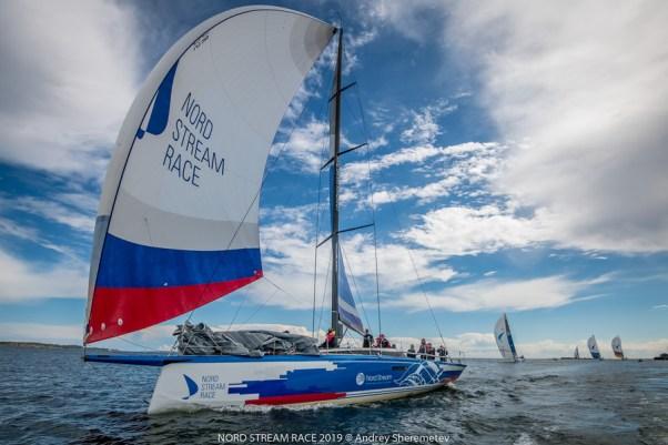 Команда Leviathan во время 4 этапа Nord Stream Race 2019. Фото: Андрей Шереметьев