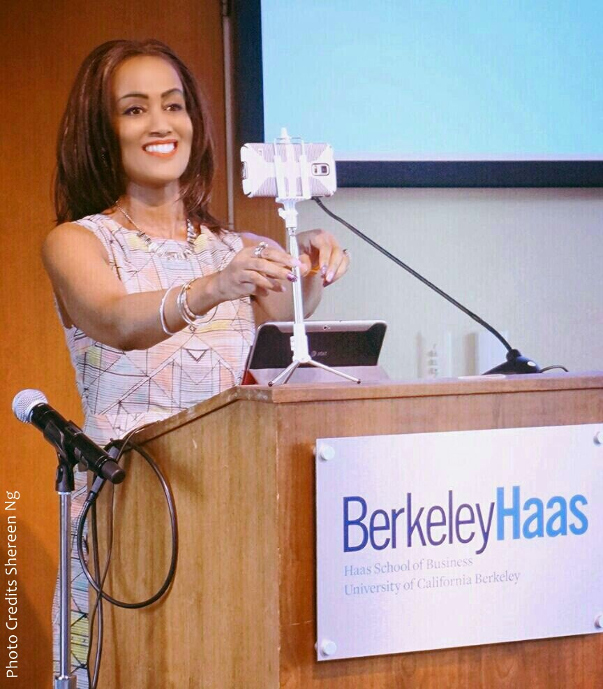 "You are here Home > BUSINESS > Top ICT DIVA Sophia Bekele Trendsets at UC Berkeley Haas School of Business, heralding ""Mobile technology is the future of the internet"" FacebookTwitterGoogle+WhatsAppLinkedInPinterestEmailSumoMe Top ICT DIVA Sophia Bekele Trendsets at UC Berkeley Haas School of Business, heralding ""Mobile technology is the future of the internet"""