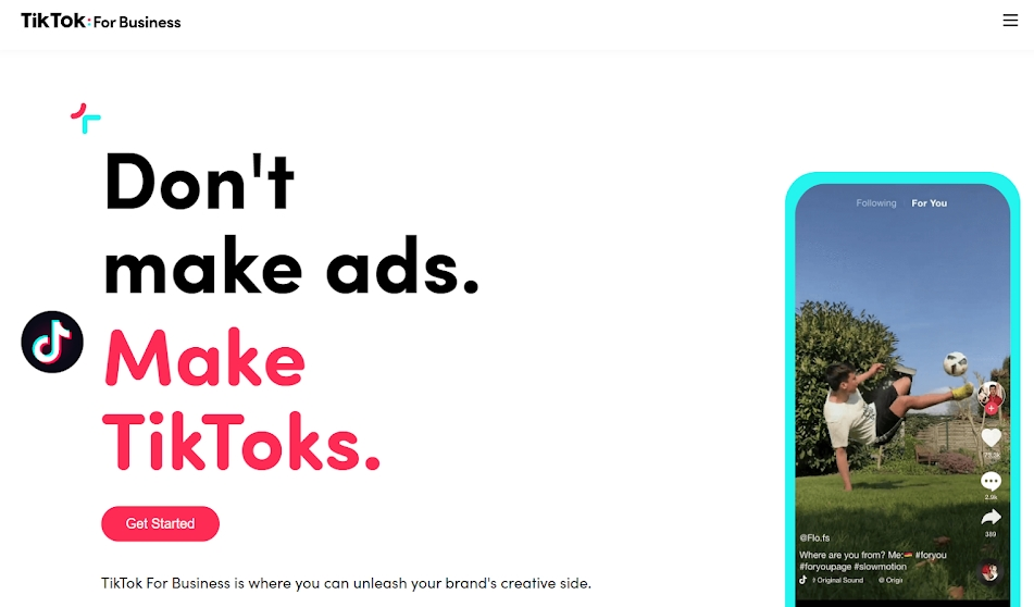 TikTok announces TikTok For Business with branded content and advertising solutions
