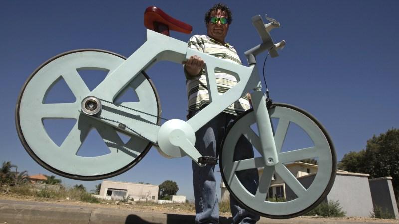 Cardboard Technologies – картонный велосипед