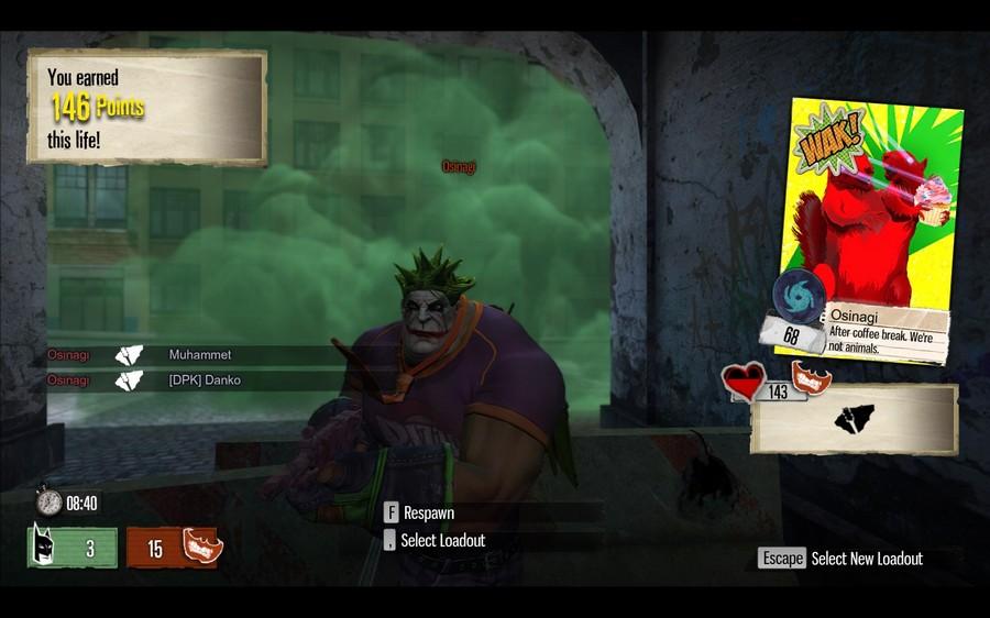 Gotham City Impostors Matchmaking trwa wiecznie