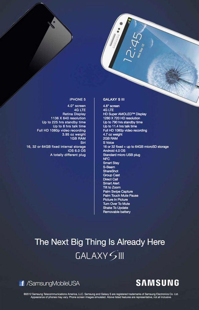 The next BIG thing или почему Samsung Galaxy S3 круче Apple iPhone 5 (обновлено)