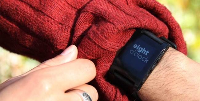 Pebble – Bluetooth часы с экраном E-Ink