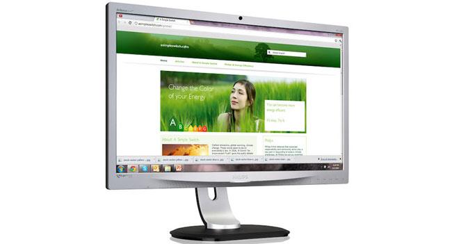 Philips представила IPS-монитор Brilliance 231P4QRYES с поддержкой технологии ErgoSensor