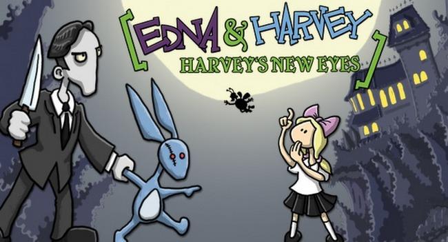 Edna and Harvey: Harvey's New Eyes – детская сказка для взрослых