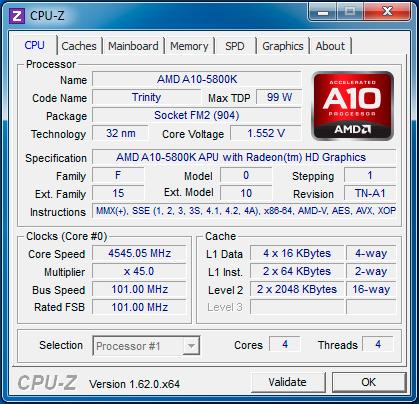 Обзор материнской платы MSI FM2-A85XA-G65