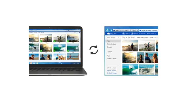 Microsoft обновила приложения SkyDrive для различных платформ