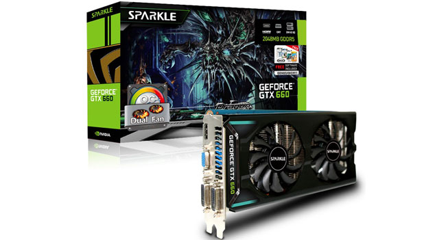Sparkle представила серию разогнанных видеокарт Dual Fan