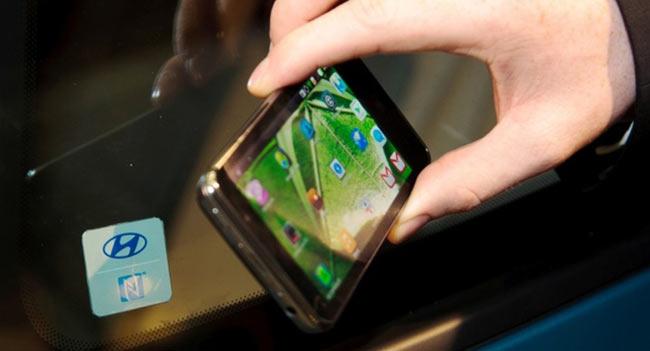 Hyundai Connectivity Concept: NFC-система для взаимодействия с автомобилем через смартфон