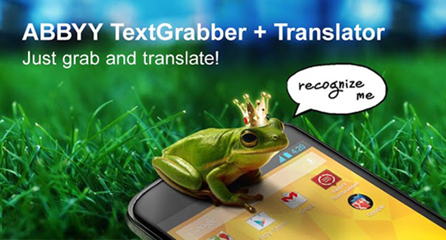 ABBYY выпустила TextGrabber + Translator для Android