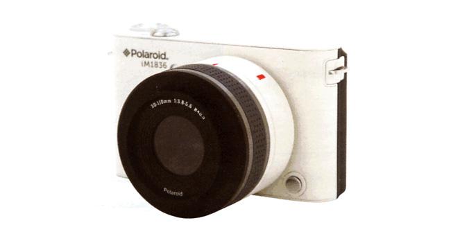 Polaroid IM1836: первая камера со сменным объективом и с ОС Android на борту