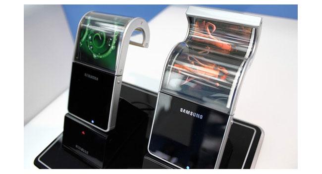 На CES 2013 Samsung покажет два гибких дисплея