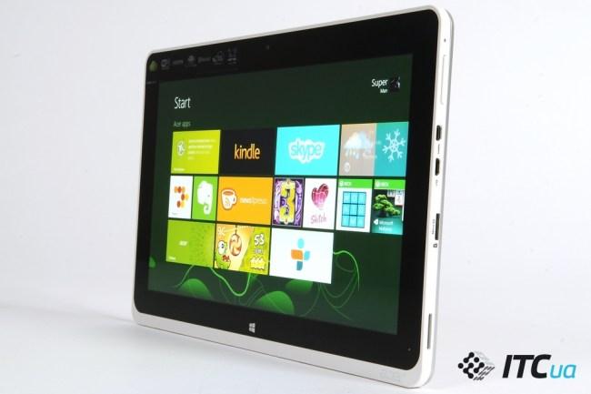 Обзор планшета Acer Iconia Tab W510
