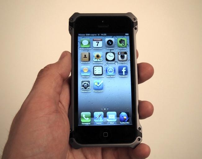 Экспресс-обзор защитного чехла ElementCase Sector 5 для iPhone 5