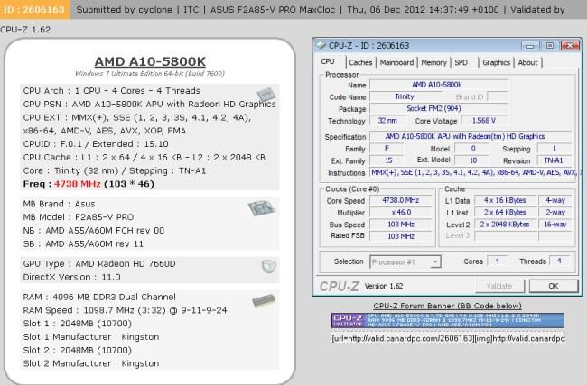 Обзор материнской платы ASUS F2A85-V PRO