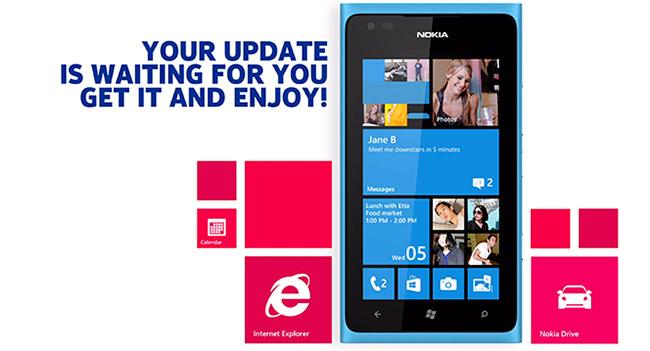 ОС Windows Phone 7.8 добралась до смартфонов Nokia Lumia