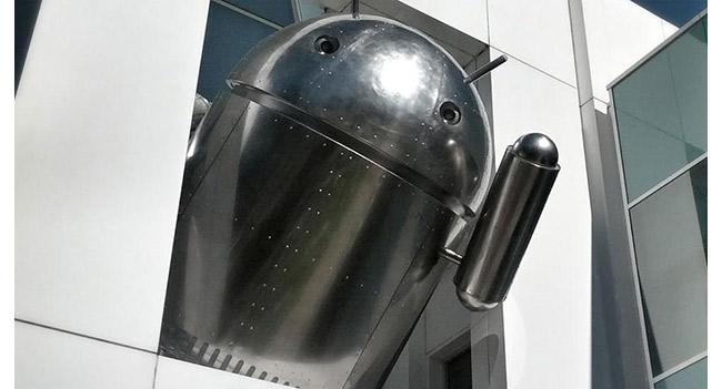 В штаб-квартире Google появилась новая статуя Android