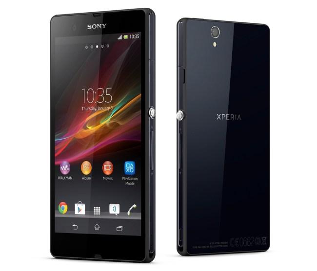 Sony Xperia Z - пыле- и влагозащищенный флагманский Android-смартфон с Full HD-дисплеем
