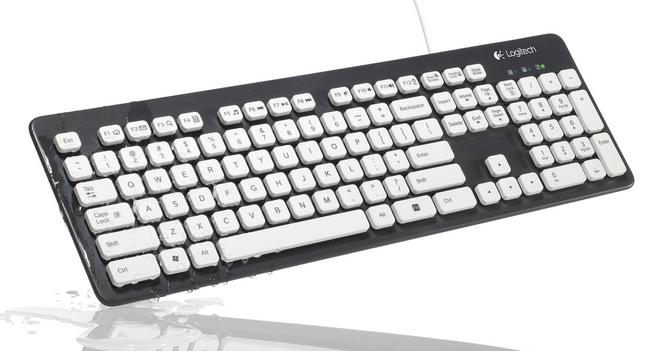 Logitech K310 Washable Keyboard: клавиатура, которая не боится грязи