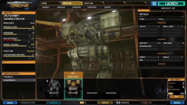 MechWarrior Online: возвращение больших роботов