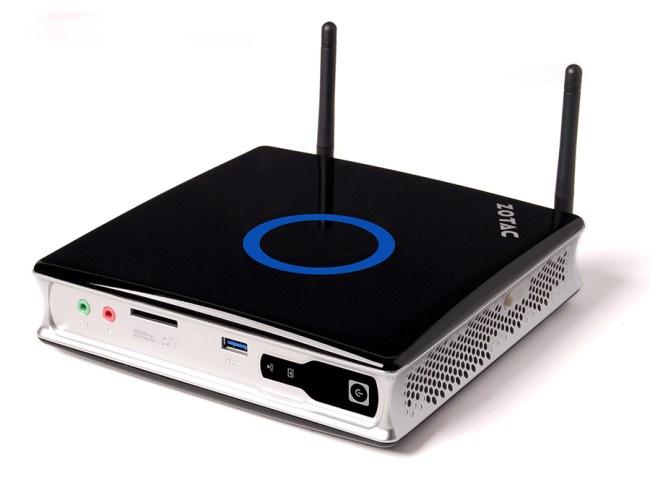 ZOTAC обновляет модельный ряд ZBOX, представлены устройства с Intel Core i3 и GeForce GT 610