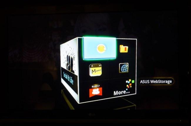 ASUS Qube - телевизионная приставка с Google TV и уникальным интерфейсом