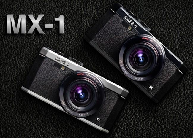 Pentax MX-1 - 12,1-мегапиксельная компактная камера в ретро-дизайне