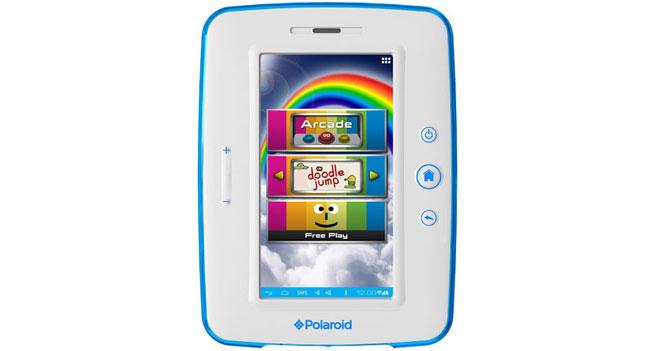 Polaroid выпустила 7-дюймовый детский планшет