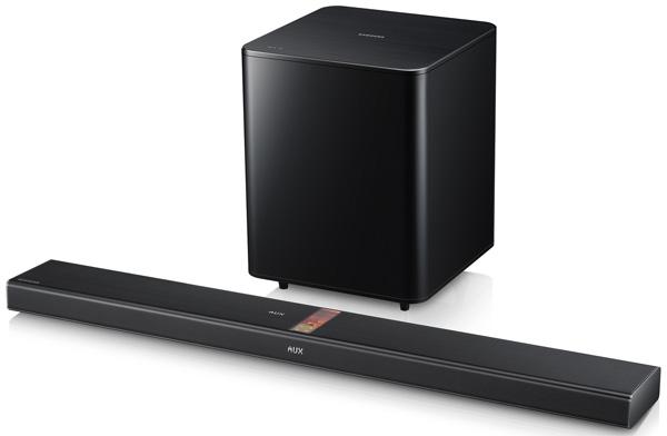 Samsung показала на CES 2013 несколько акустических систем