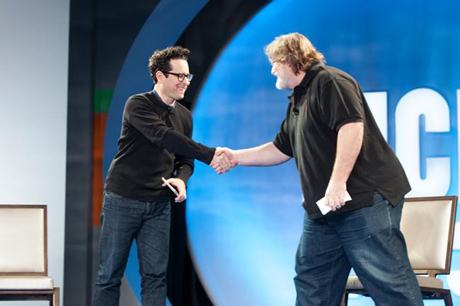 Компании Valve и Bad Robot объявили о сотрудничестве в создании игр и фильмов