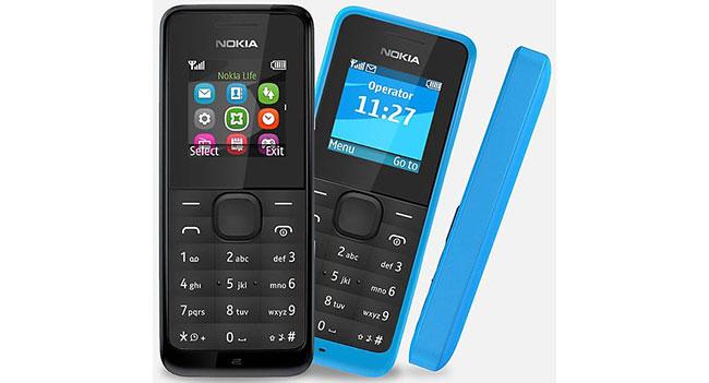 Nokia представила два два доступных телефона Nokia 105 и Nokia 301