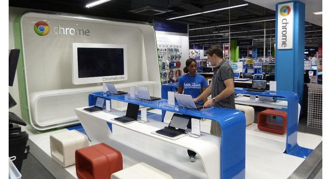 Google откроет собственную сеть розничных магазинов