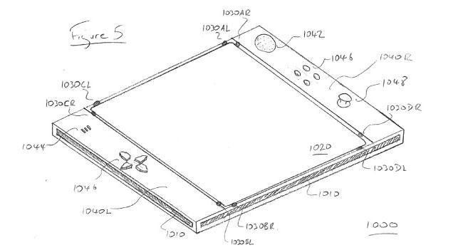 Sony запатентовала сенсорный контроллер EyePad