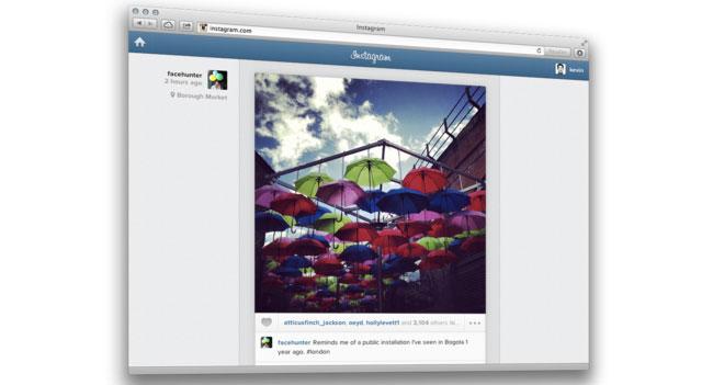 Instagram запускает возможность следить за лентой новостей через браузер