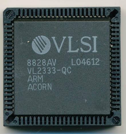 Чип ARM1 – первенец компании Acorn Computers, который производился на фабриках VLSI