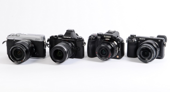Тест беззеркальных камер: Fujifilm X-E1, Olympus OM-D E-M5, Panasonic Lumix DMC-G5, Sony NEX-6
