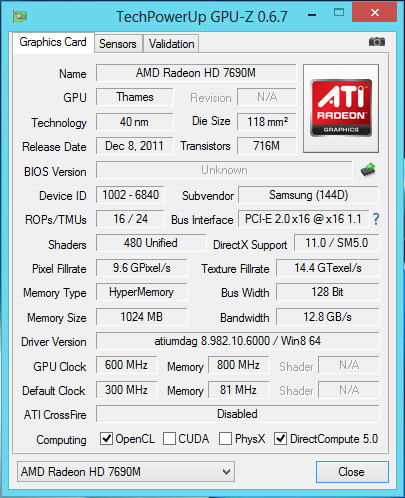 Samsung_DP700A3D_GPU-Z_info