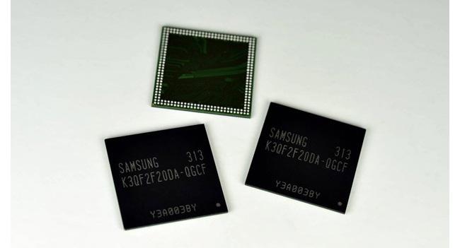 Samsung начала производство чипов мобильной памяти LPDDR3 емкостью 4 Гб по технологии 20-нм класса