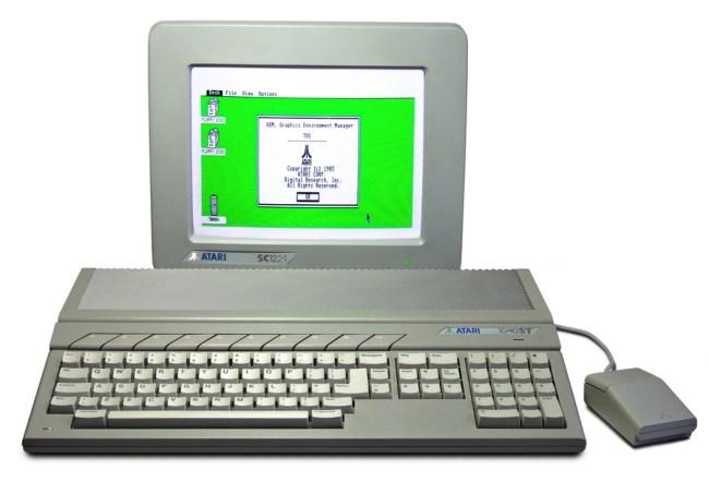 Atari ST и ее передовой графический интерфейс