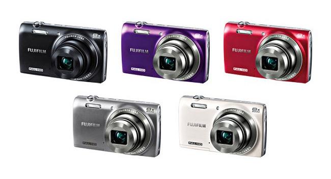 Fujifilm выпустила компактную камеру JZ700 с 8-кратным зумом