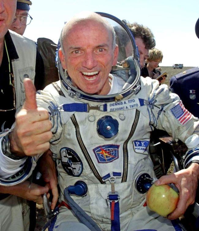 «Турпутевка» в космос обошлась первому космическому туристу Деннису Тито в $20 млн.