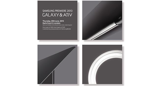 На 20 июня Samsung запланировала релиз новых мобильных устройств Galaxy и ATIV