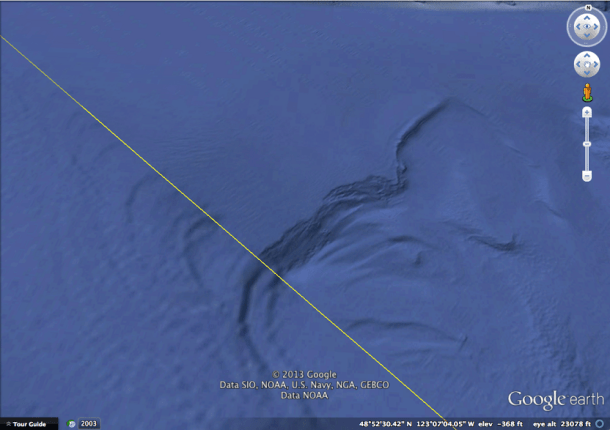 В Google Earth и Google Maps появятся более детальные изображения океанического дна