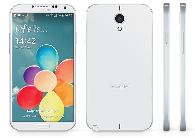 Очередной рендер смартфона Samsung Galaxy Note III. От изображения взятого с инструкции к Samsung N900 его отличает отсутствие отдельной клавиши для работы с камерой