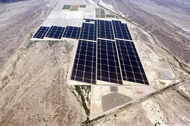 Мощнейшая в мире солнечная электростанция Агуа-Калиенте (штат Аризона)