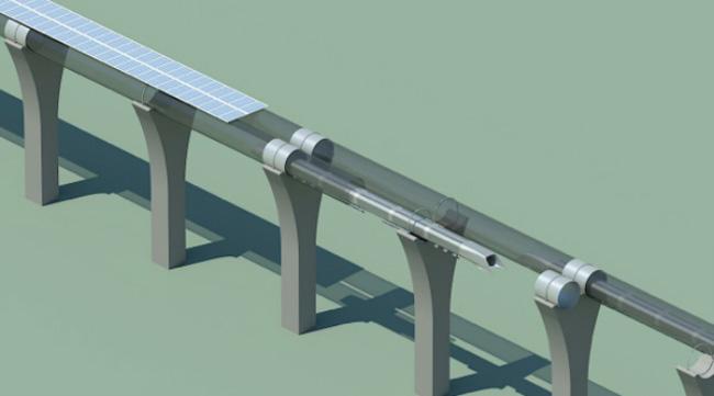Hyperloop - проект высокоскоростной и экономичной транспортной системы