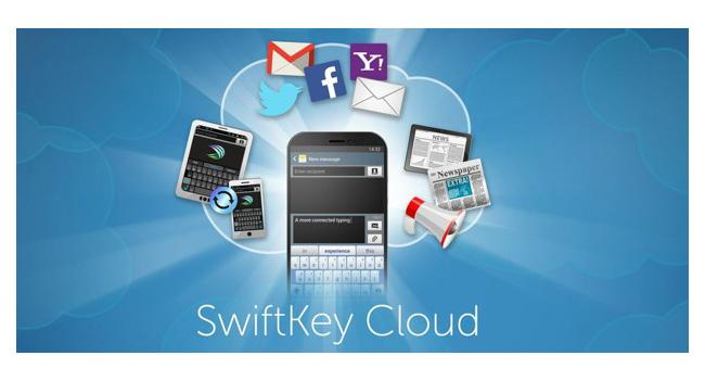 В приложении SwiftKey реализована поддержка сервиса SwiftKey Cloud